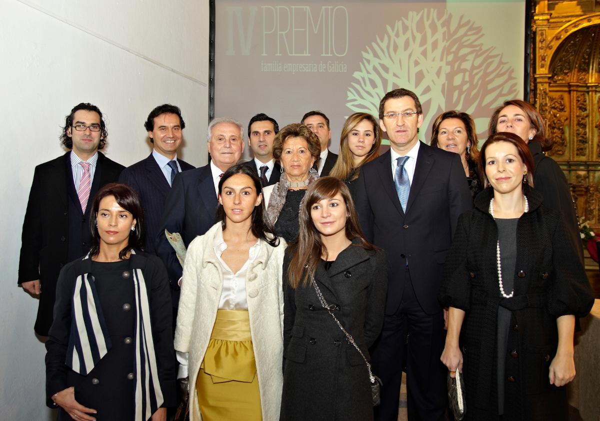 Familia Alonso Escurís (Grupo Jealsa Rianxeira), IV Premio Familia Empresaria