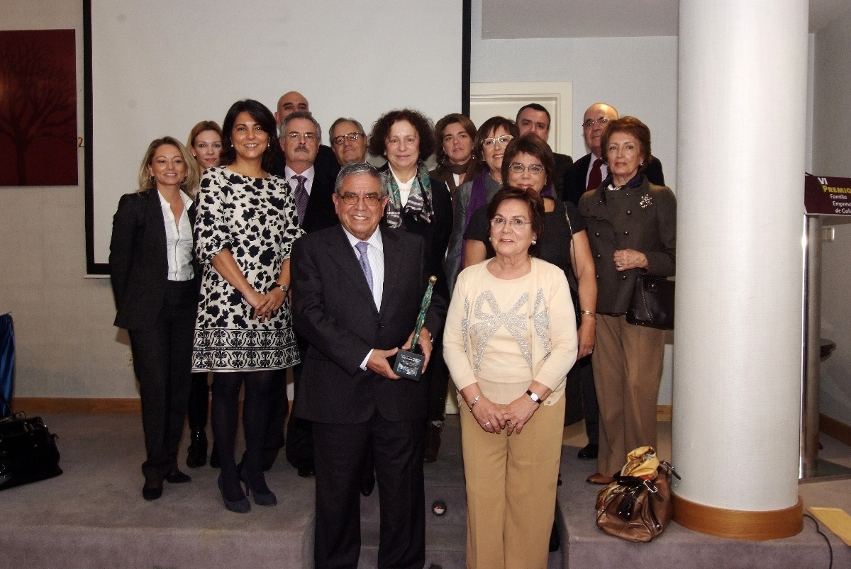 Familia Calvo-Pumpido (Grupo Calvo), VI Premio Familia Empresaria