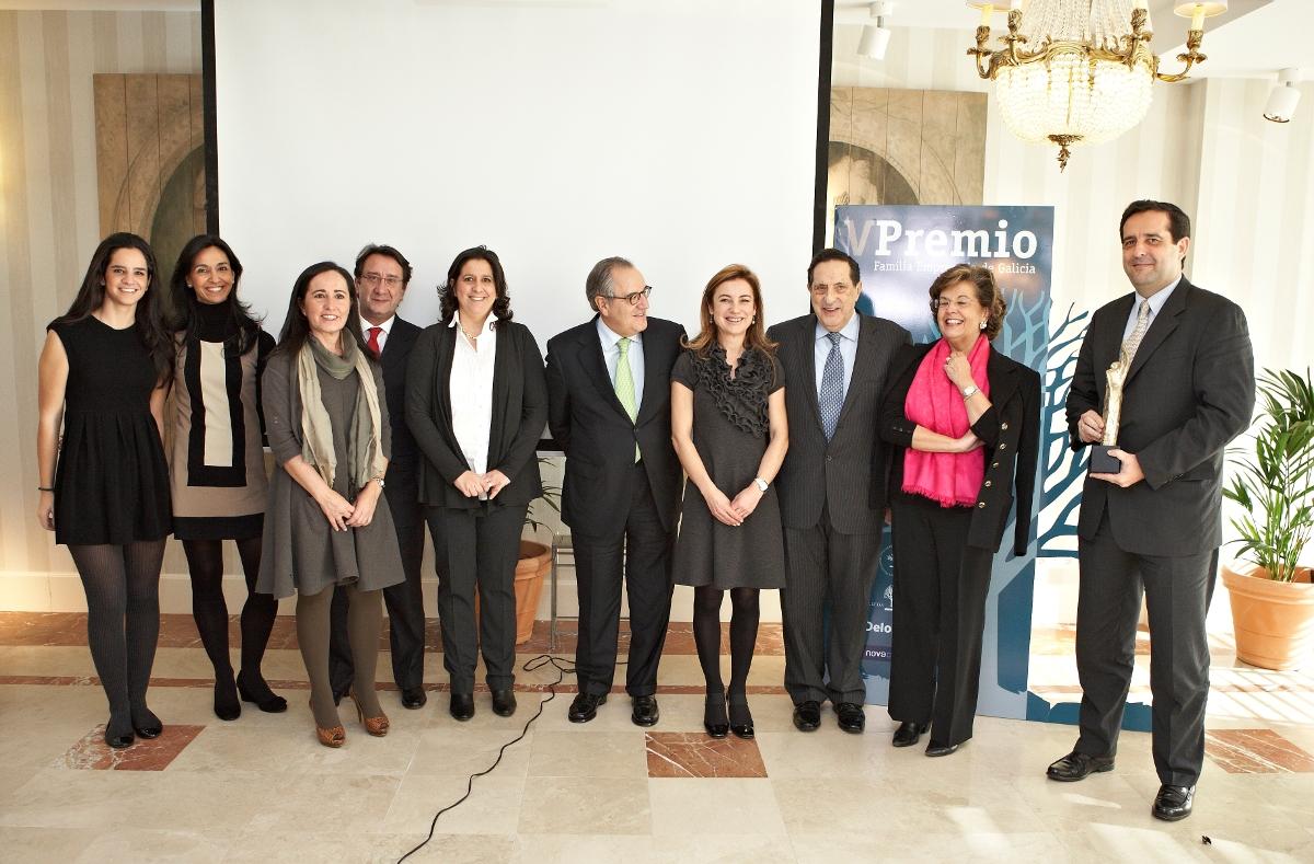 Familia Castro Rodríguez (Grupo Pórtico), V Premio Familia Empresaria