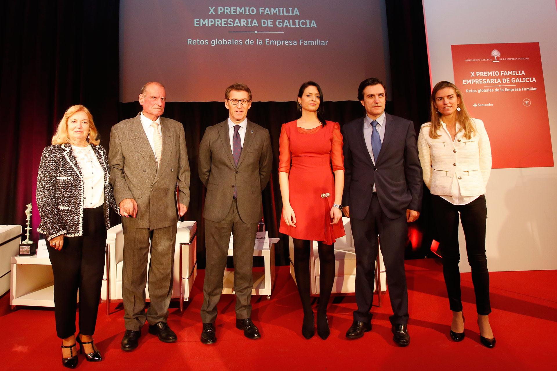 Familia Froiz (Grupo Froiz), X Premio Familia Empresaria