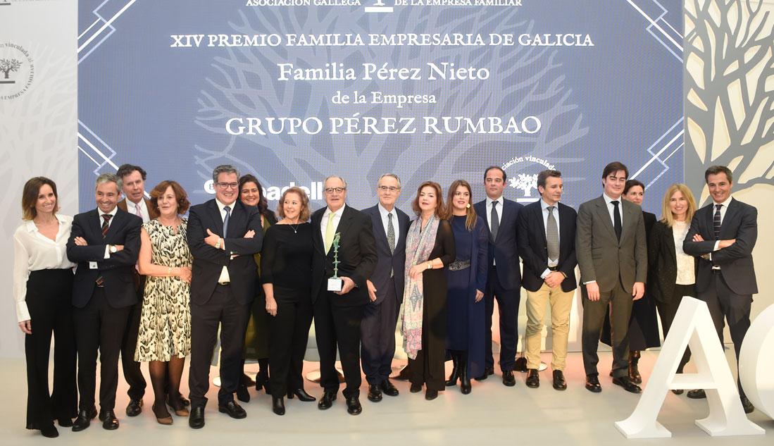 Familia Pérez Nieto (Grupo Pérez Rumbao), XIV Premio Familia Empresaria