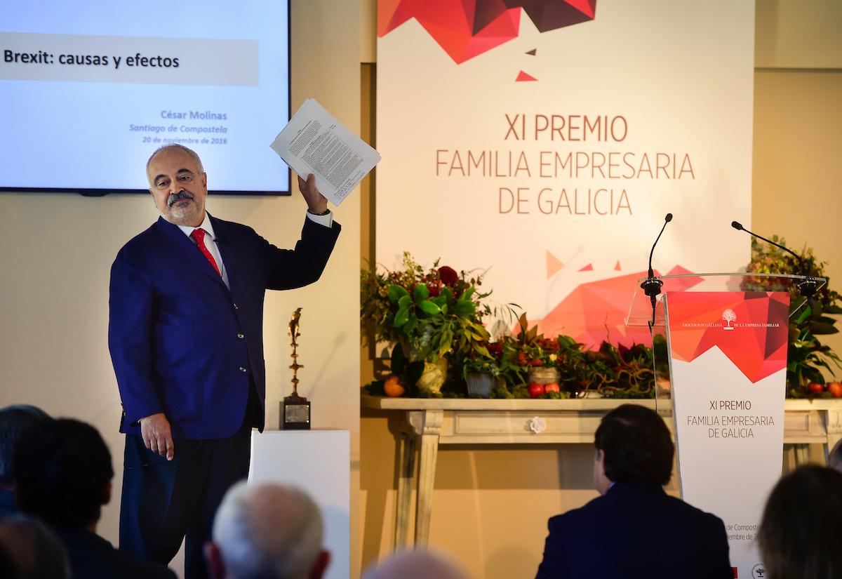 Familia Prada (Compañía de Tranvías de La Coruña), XII Premio Familia Empresaria