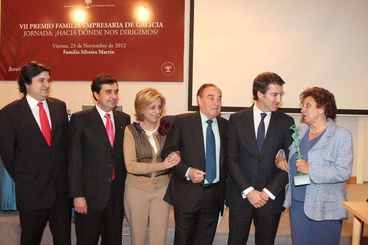 Familia Silveira Cañizares (Grupo Nosa Terra XXI), VII Premio Familia Empresaria